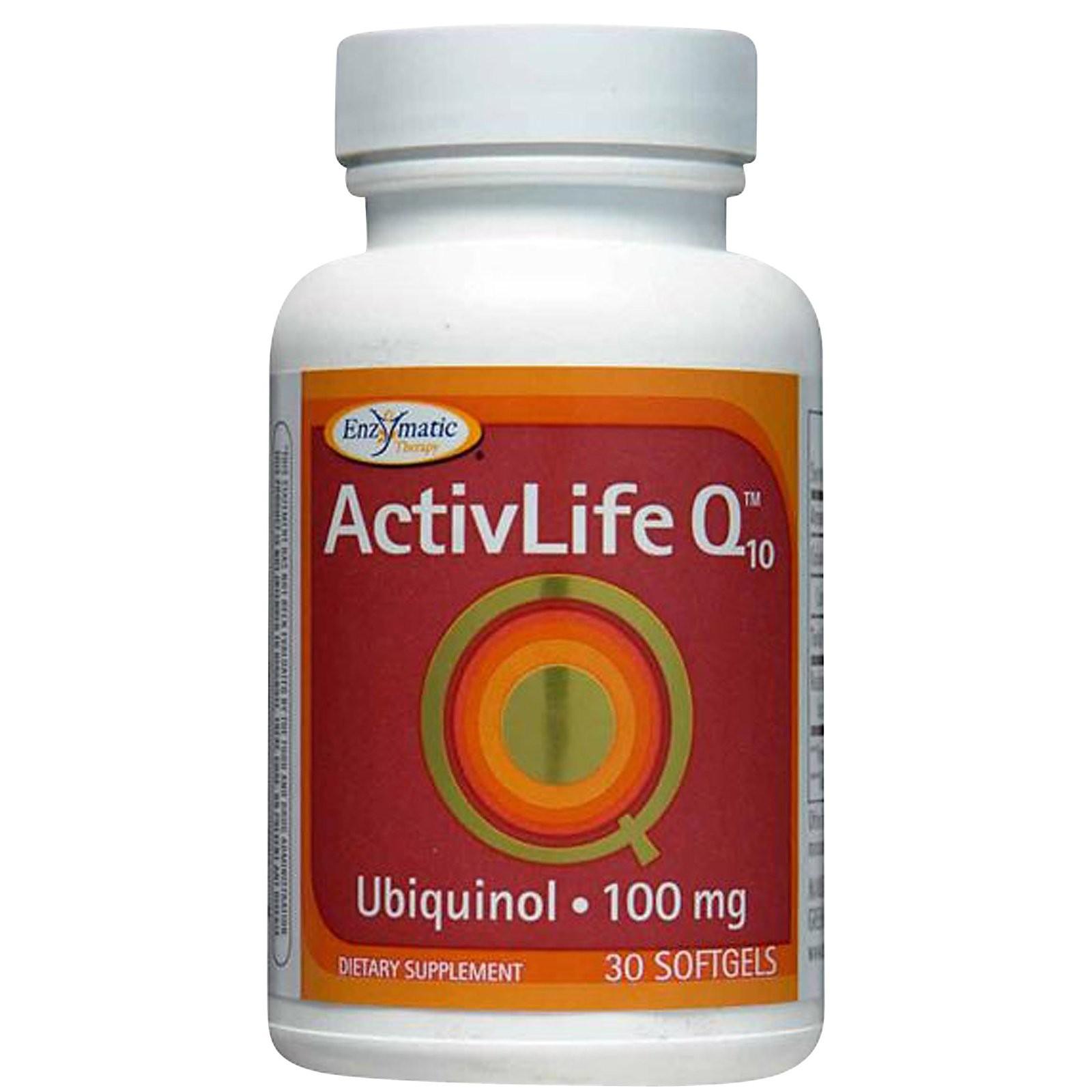 ACTIVLIFE Q10 UBIQUNOL 100 MG 30 SGELS