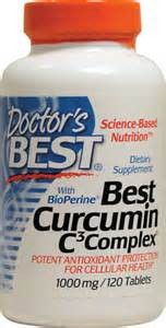 BEST CURCUMIN C3 COMPLEX 1000MG 120 TABS