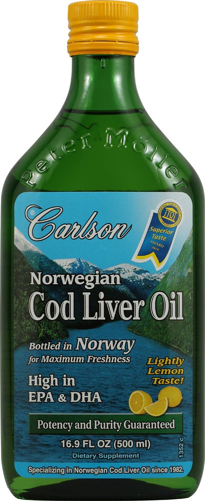 NORWEGIAN COD LIVER OIL LEMON 250 ML