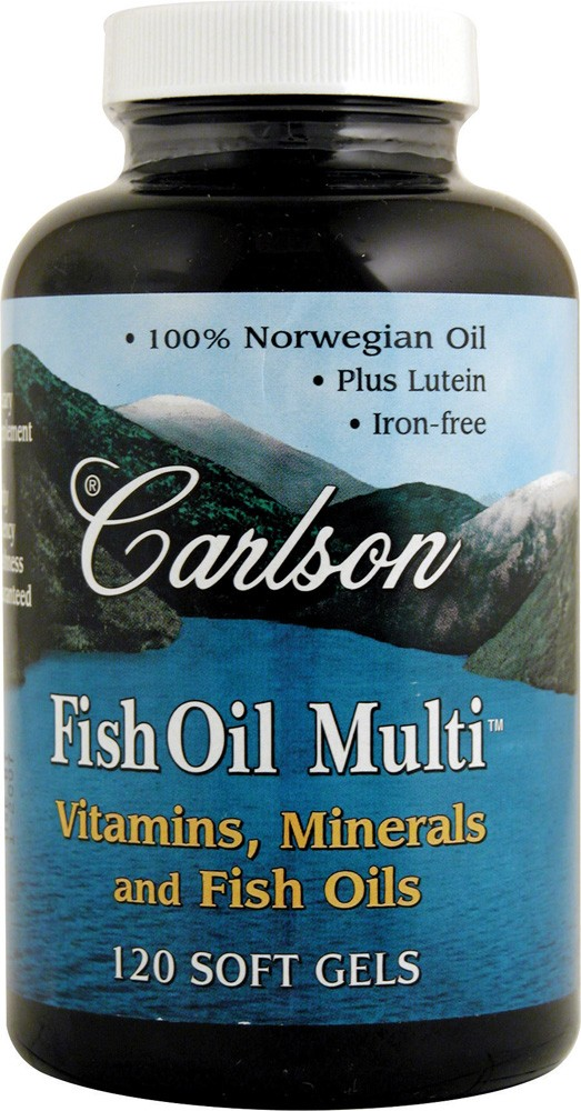 FISH OIL MULTI VITAMIN 120 S-GELS