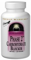 PHASE 2 CARBOHYDRATE BLOCKER 500 MG 60 TABS