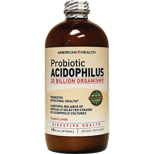ACIDOPHILUS LIQUID PLAIN 160Z