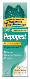 PEPOGEST ENTERIC COATED 60 SGELS