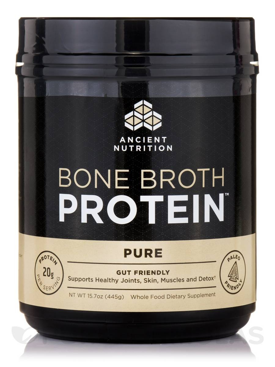 BONE BROTH PROTEIN PURE 17.8 OZ.