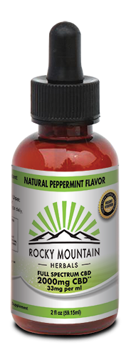 CBD 2000 MG 2 OZ PEPPERMINT