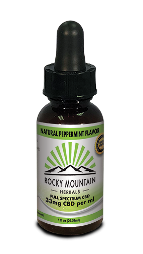 CBD OIL 1000 MG 1 OZ PEPPERMINT