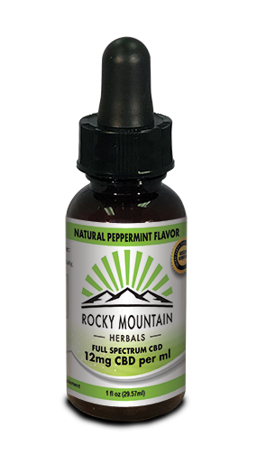 CBD OIL 350 MG 1 OZ PEPPERMINT
