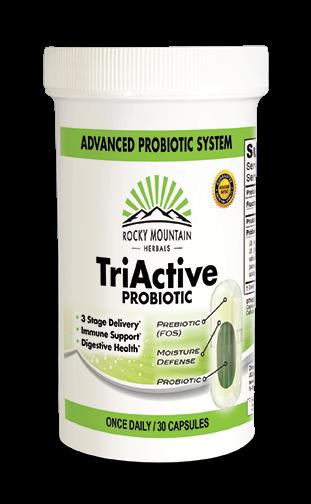 TRIACTIVE PROBIOTIC 30 CAPS