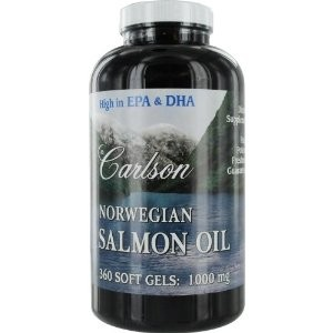 NORWEGIAN SALMON OIL 1000 MG 300S-GELS