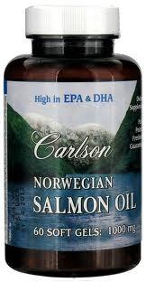 NORWEGIAN SALMON OIL 1000 MG 60 S-GELS