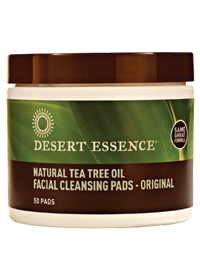 TEA TREE FACE CLEANSING PADS/50 COUNT