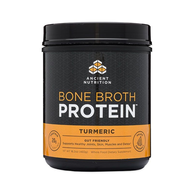 BONE BROTH PROTEIN TUMERIC 17.8 OZ