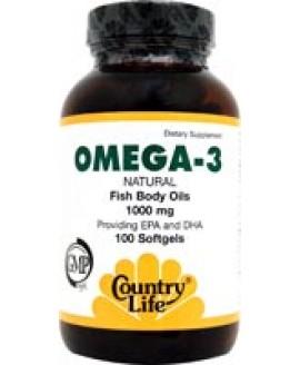 OMEGA 3 FISHBODY OILS 1000 MG 100 SGELS