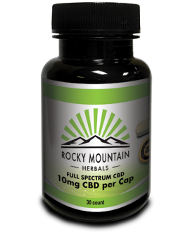 Rocky Mountain Herbals CBD 10mg 30 caps