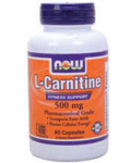 L CARNITINE 500MG 60CAPS
