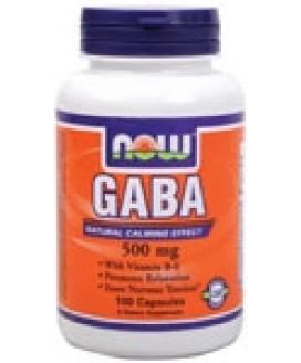 GABA 500MG 100CAPS