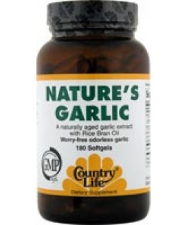 NATURE'S GARLIC 500 MG 180 SGELS