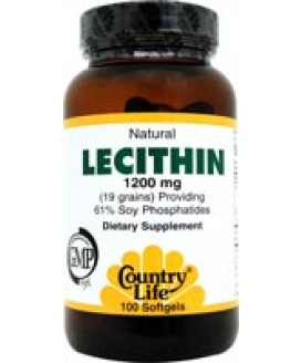LECITHIN 19 GRAIN 100 SGELS