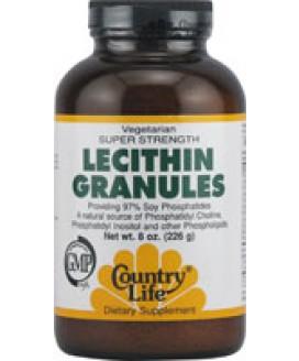 LECITHIN GRANULES 8 OZ.