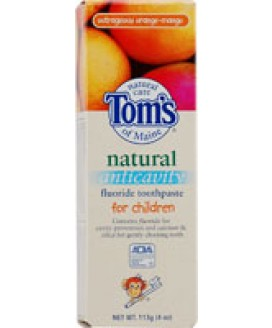 ORANGE MANGO FLRD TOOTHPASTE CHILDREN 4 OZ.