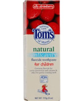 SILLY SRAWBERRY FLUORIDE FREE 4 OZ.