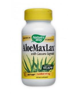ALOE MAXLAX 100CAPS