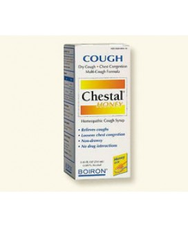 CHESTAL COUGH SYRUP 8.45OZ