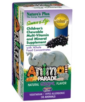 SOURCE OF LIFE ANIMAL PARADE GRAPE 180 CT