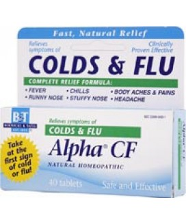 ALPHA CF TABLETS 40 CT
