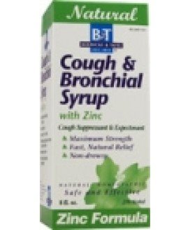 COUGH & BRONCHIAL W/ ZINC 8 OZ.