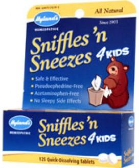 SNIFFLES N SNEEZES 4 KIDS 125 TABS