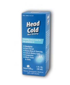HEAD COLD RELIEF 1 OZ.