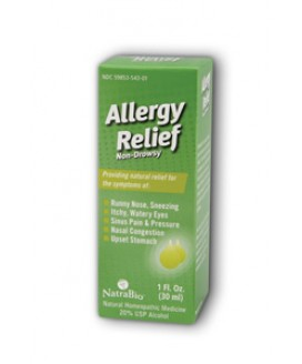 NATRA-BIO-ALLERGY 1 OZ