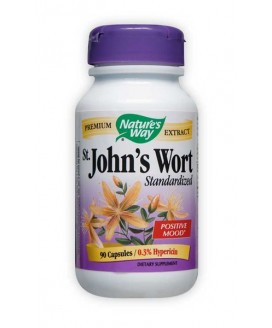STANDARDIZED ST JOHNS WORT 90 CAPS