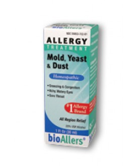 ALLERGY RELIEF MOLD YEAST DUST 1OZ
