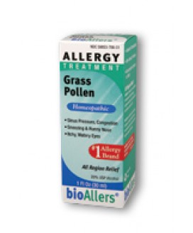 ALLERGY RELIEF GRASS POLLEN 1OZ
