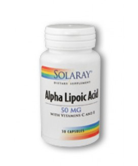 ALPHA LIPOIC ACID 50MG 30 CAPS