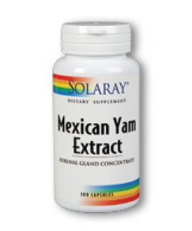 MEXICAN YAM EXTRACT ADRENAL 100 CAPS