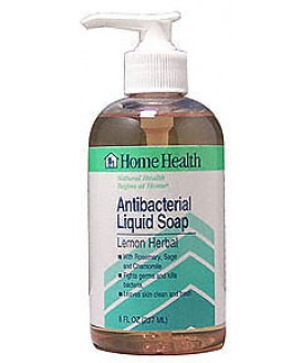 ANTIBACTERIAL SOAP LEMON HERB 8OZ