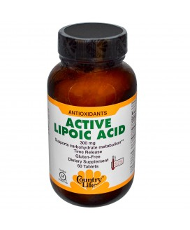 ACTIVE LIPOIC ACID S/R 300MG