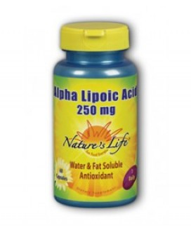 ALPHA LIPOIC ACID 250MG 60SOFTGELS