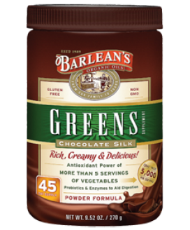 CHOCOLATE SILK GREENS 9.52 OZ.