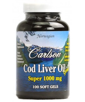 COD LIVER OIL SUPER 1000 100 SOFT GELS