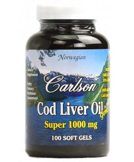 COD LIVER OIL SUPER 1000 100 SOFT GELS
