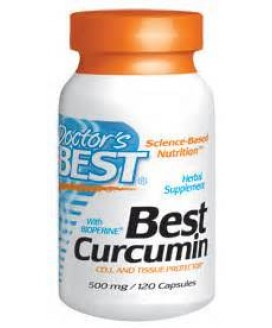 CURCUMIN W/BIOPERINE 120 CT. 500 MG