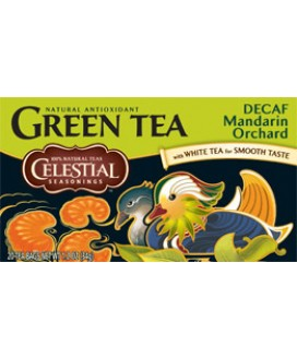 DECAF MANDARIN ORCHARD GREEN TEA 20BAGS