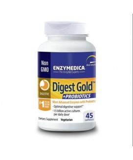 DIGEST GOLD + PROBIOTICS 45 CAPS
