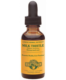 HERB PHARM MILK THISTLE 1 OZ