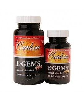 E-GEMS PLUS 100SGELS 400IU (NATURAL VITAMIN E)