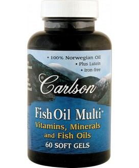 FISH OIL MULTI VITAMIN 60 S-GELS